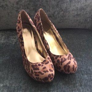 Cheetah heels